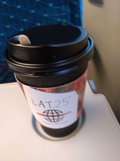 Caffe LAT.25°品川駅店の口コミ