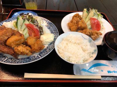 大川温泉 貴肌美人 緑の湯 お食事処