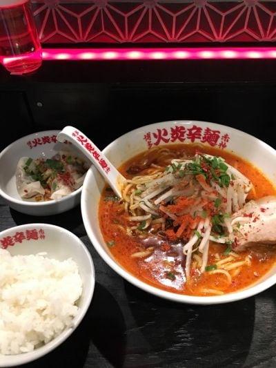 博多火炎辛麺 赤神 京都店