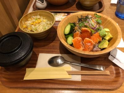 梅田 阪急三番街リバーカフェ