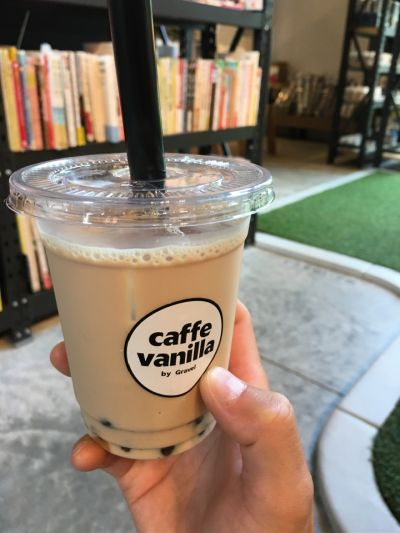 Flower Space Gravel/caffe vanilla