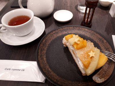 カフェコムサ 池袋西武店(Cafe Comme ca)