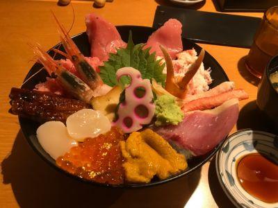 近江町海鮮丼家 ひら井 いちば館店の口コミ