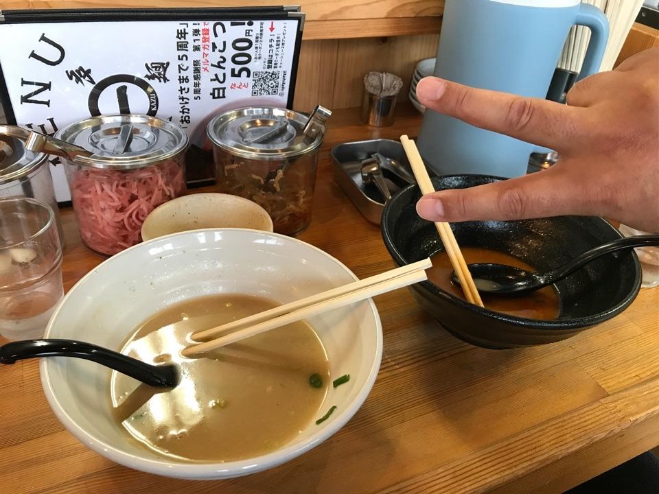 新潟県長岡市の博多拉麺KAZU(ハカタラーメンカズ)の口コミ