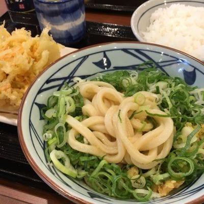 丸亀製麺 浜松東若林店の口コミ