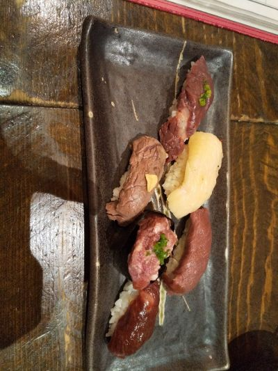 熊本下通り 肉寿司