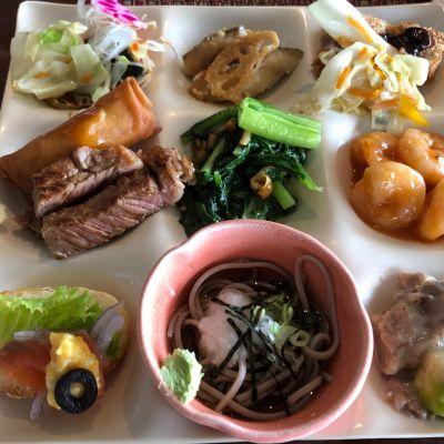 THE DINING 暖流満菜の口コミ