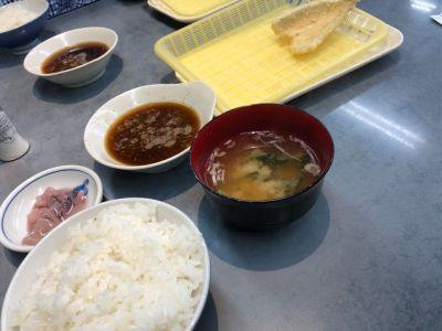 だるまの天ぷら定食 吉塚本店