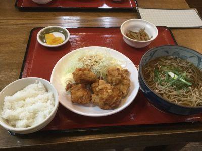 蕎麦 丼 そば松