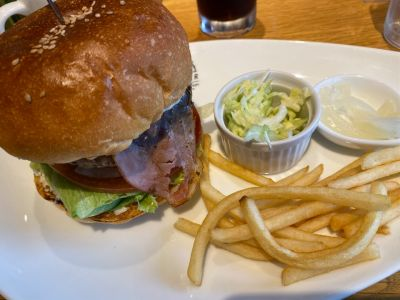 Airs BURGER cafe & deliveryの口コミ