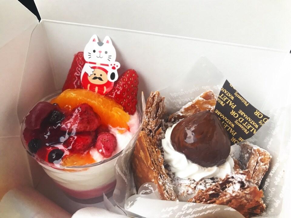 新潟県弥彦の洋菓子専門店~パレドールワタナベ~/お取り寄せ通販の口コミ