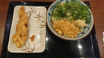 丸亀製麺 上野中央通り店の口コミ