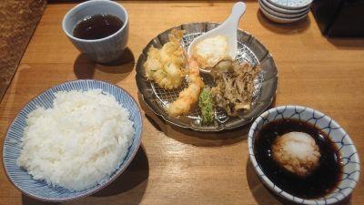 天ぷらめし 金子半之助 日本橋本店