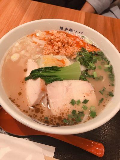 博多鶏ソバ 華味鳥 新宿三井ビル店