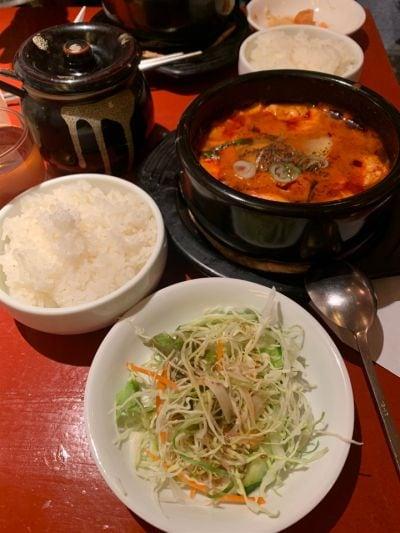 韓国家庭料理 からくに家 芝大門店