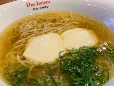 黄金の塩らぁ麺 ドゥエイタリアン マルイファミリー溝口店