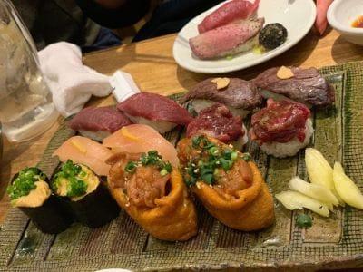博多筑紫口 肉寿司