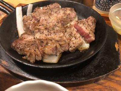 豚ステーキ十一 赤坂
