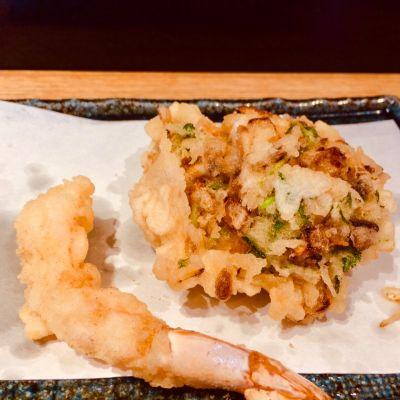 恵比寿 天ぷら魚新