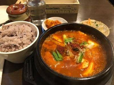 韓国田舎家庭料理 東光