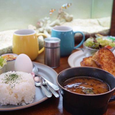 カフェと海遊び Sunny Season