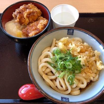讃岐釜あげうどん 四代目 横井製麺所 イオンタウン四日市泊店