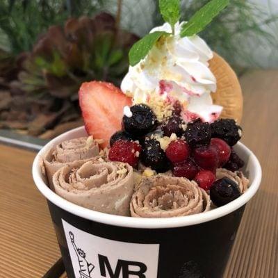 マンハッタンロールアイスクリーム 新潟万代シティー店