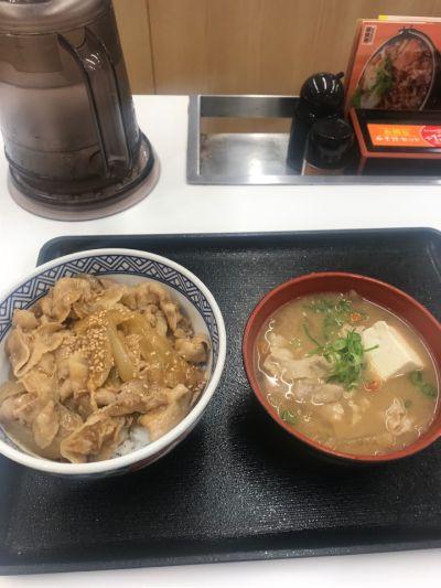 吉野家 沖縄南インター店