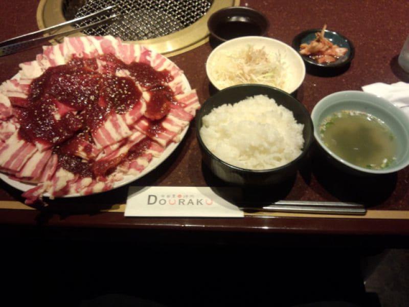中目黒焼肉 DOURAKUの口コミ