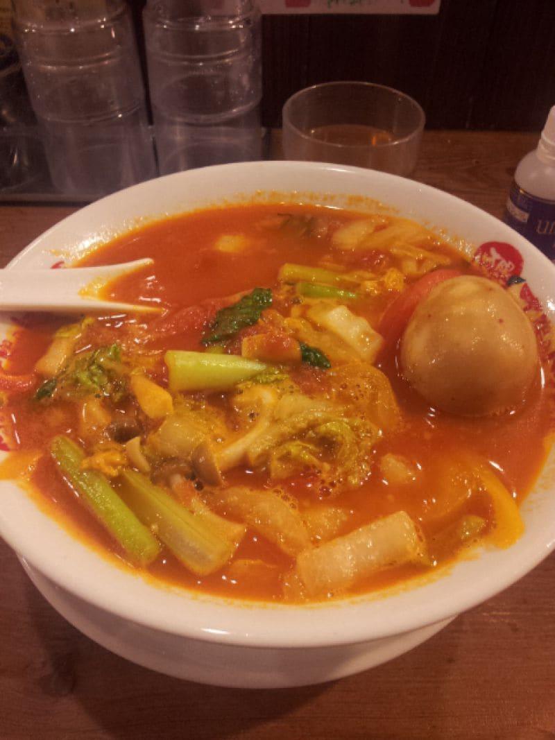 太陽のトマト麺 豊洲店の口コミ