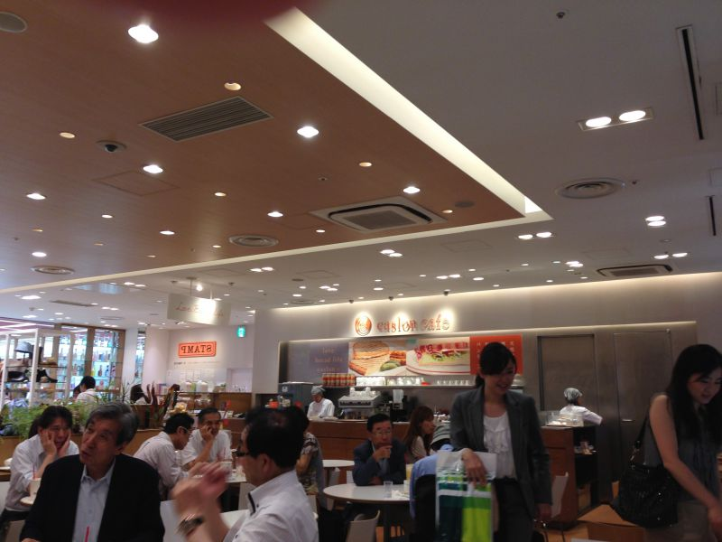 caslon cafe ecute 品川店