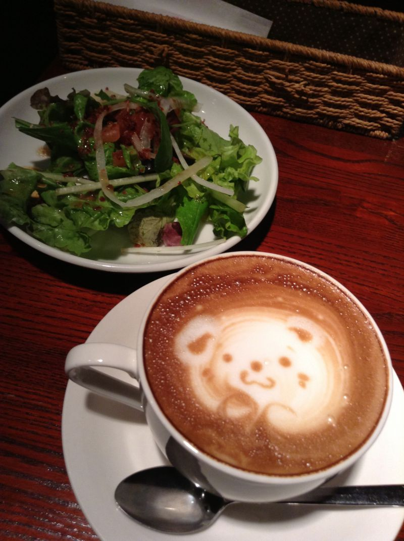 cafe JIMMY Brown