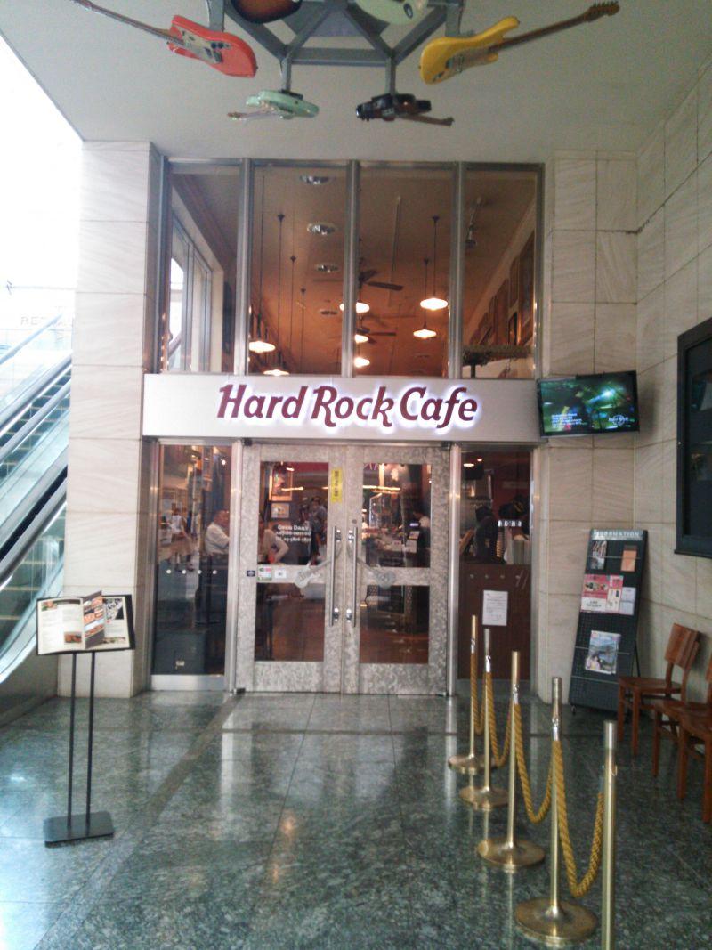 ハードロックカフェ 上野駅店