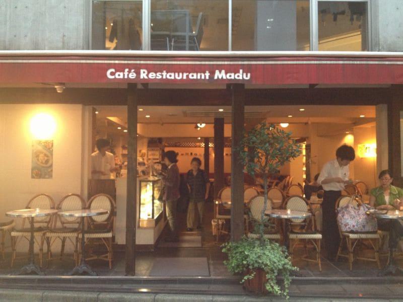 cafe restaurant madu 青山店の口コミ