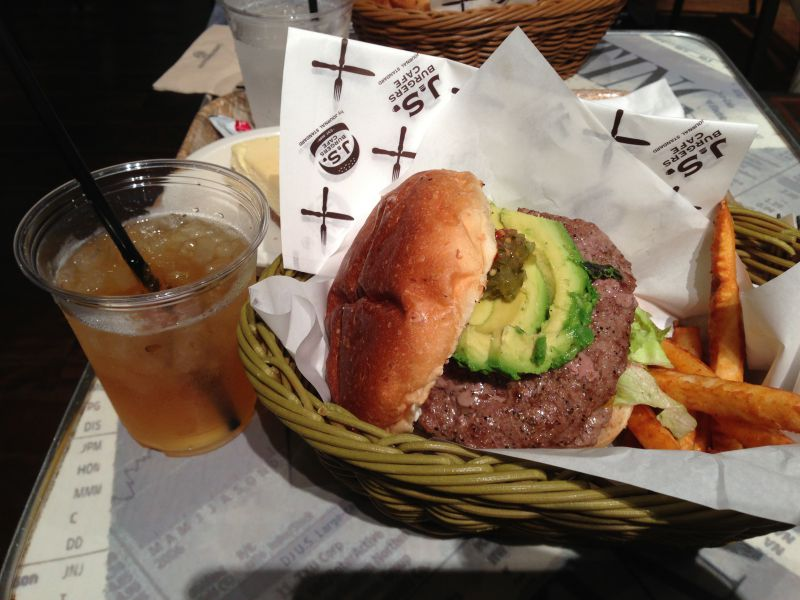 J.S.BURGERS CAFE 新宿店の口コミ