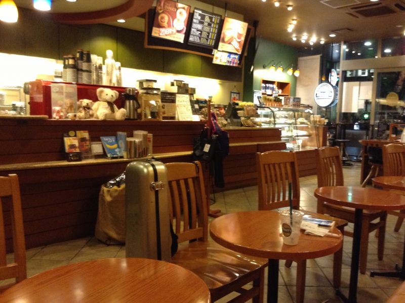 タリーズコーヒー 東銀座店