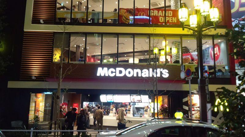 マクドナルド 西武新宿店の口コミ
