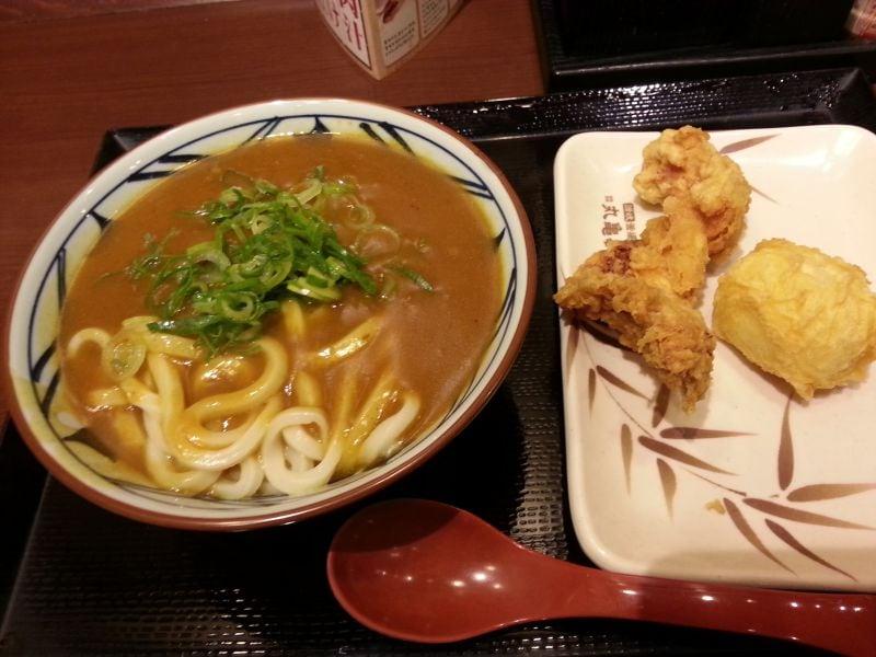 丸亀製麺 中野坂上店