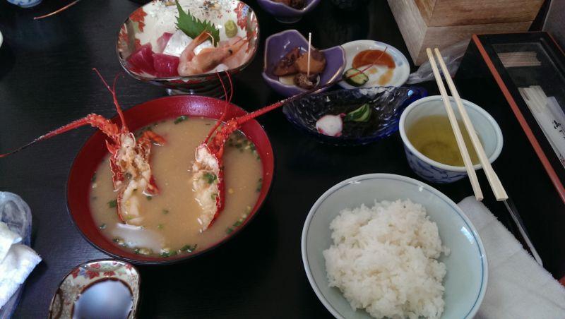 伊勢海老 磯料理 魚幸