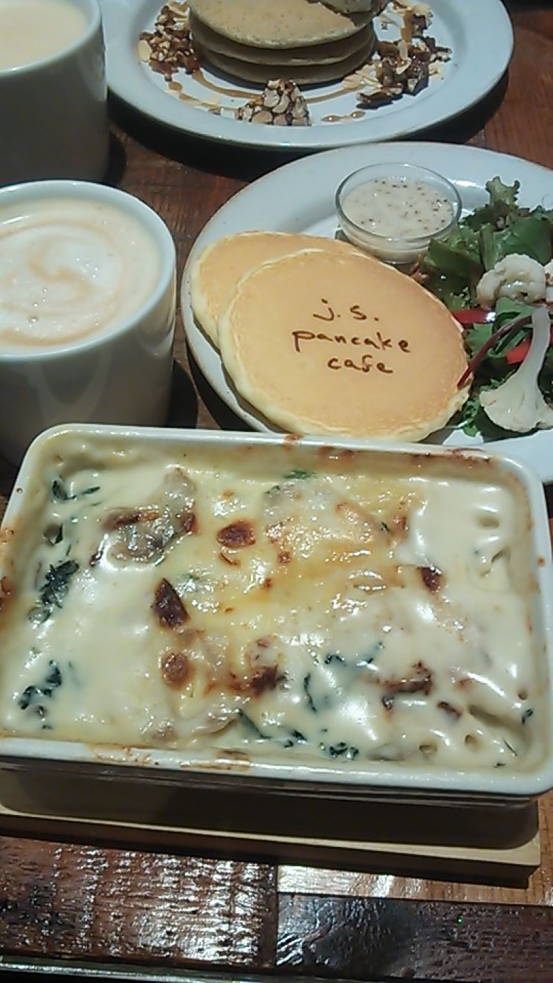 j.s.パンケーキカフェ 中野セントラルパーク店