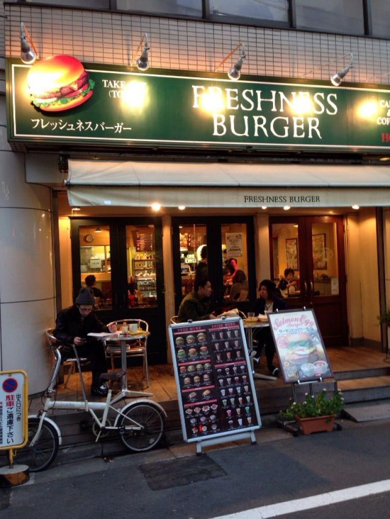 フレッシュネスバーガー キャットストリート店