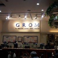 italian natural gelato GROM グロム 新宿店