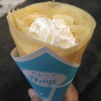 クレープ・牛乳ソフトクリーム プチバリエ