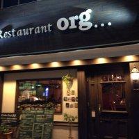 Restaurant org…